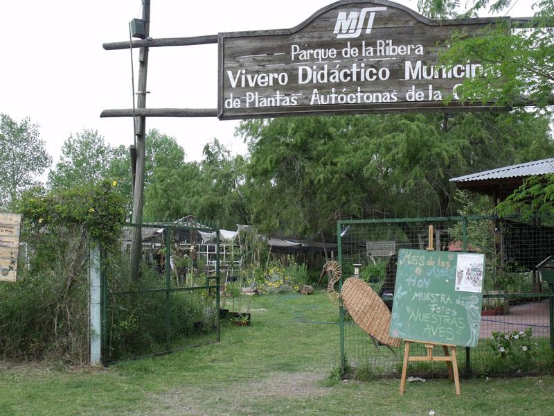 vivero de plantas nativas en la reserva ecol gica de san