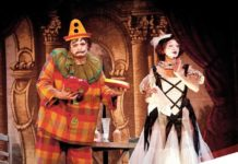 Ópera I Pagliacci en la Dante Alghieri