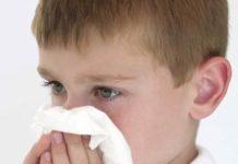 alergia rinitis infantil