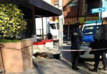 indigente muere en la calle