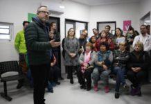Diego Valenzuela en el CAPS 2 de José Ingenieros