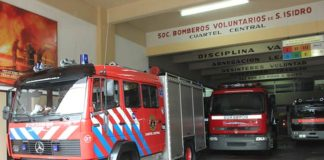 camion de bomberos san isidro