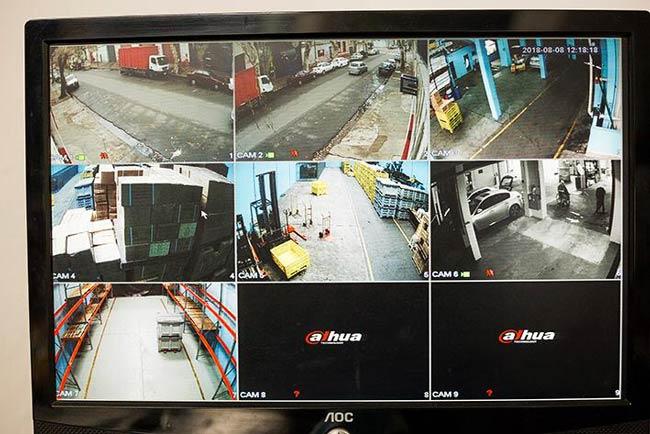camara de seguridad para monitorear la empresa