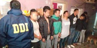 detenidos por narcomenudeo en vicente lopez