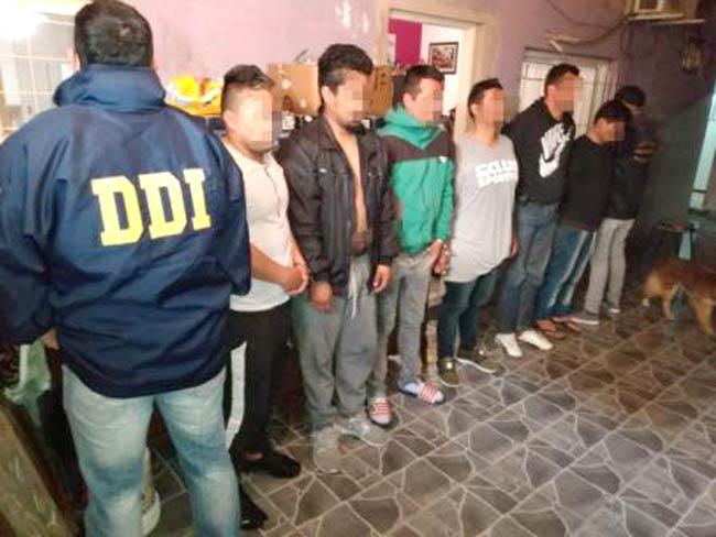 detenidos por narcomenudeo en olivos