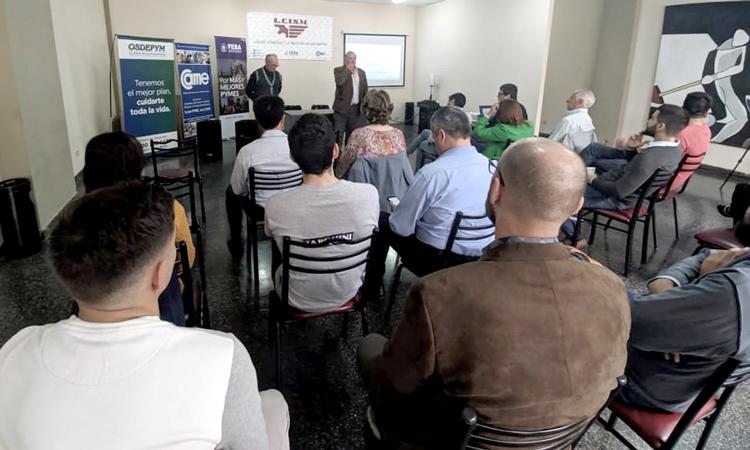 presentacion del programa de exportaciones municipal en la lcism