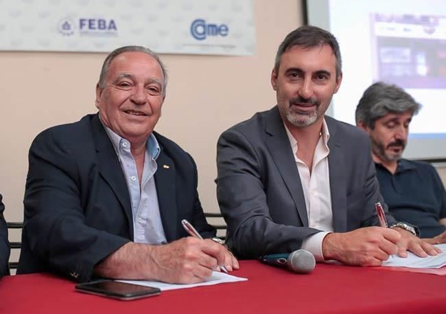 Roberto Arévalo y Juan Pablo Diab