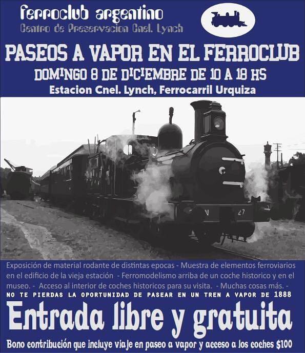 flyer ferroclub 8 diciembre