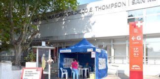 puesto informativo coronavirus thompson