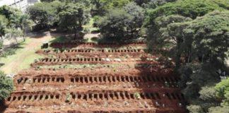 fosas comunes brasil coronaviurs