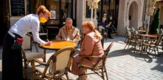 restaurante aleman abierto en cuarentena