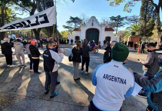 protesta quinta de olivos