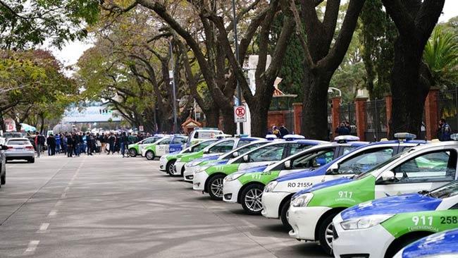 protesta policial quinta de olivos