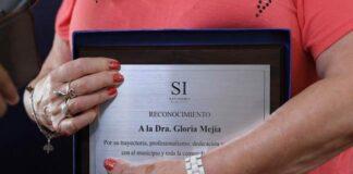 gloria mejia reconocimiento
